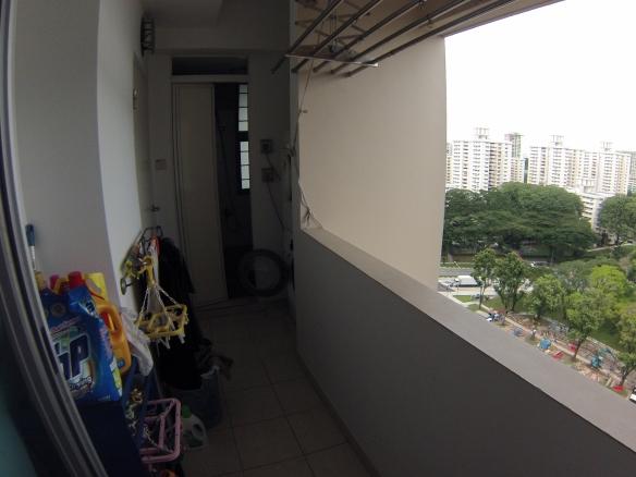 Waschraum (-balkon)